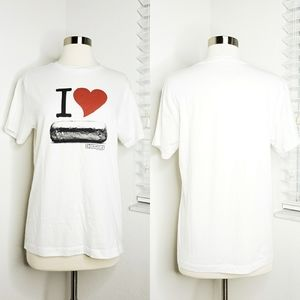 """•LOOMSTATE FOR CHIPOTLE • """"I Love Chipotle"""" Tee S."""